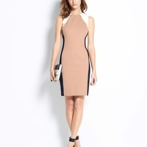 Ann Taylor color block dress